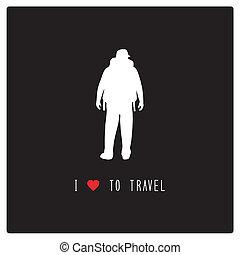 je, amour, à, travel3