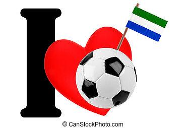 je, amour, boule football