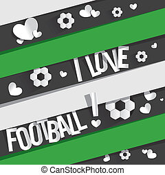 je, amour, football