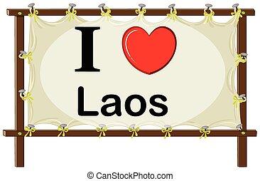 je, amour, laos