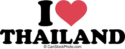 je, amour, thaïlande