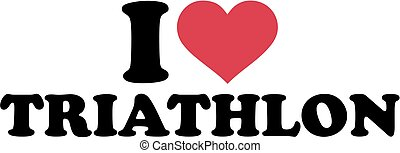 je, amour, triathlon