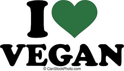 je, amour, vegan