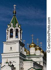 jean-baptiste, église, nizhny novgorod, russie