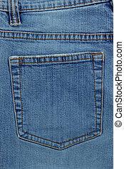 jean blu, struttura