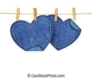 jean hearts on rope