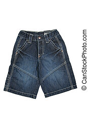 Jean shorts - Children's wear - jean shorts isolated over...