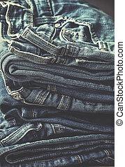 jeans., 山, よくマッチする