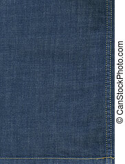 Jeans background XXL image - Flat background image of dark...