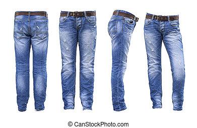 Jeans , blue jeans
