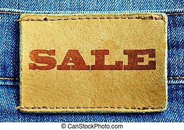 jeans, försäljning