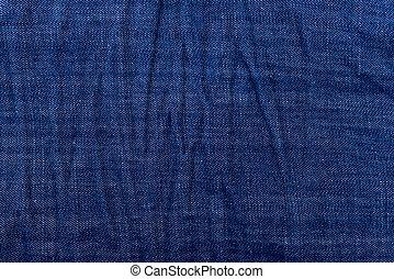 jeans, indigo, hintergrund, beschaffenheit, oder