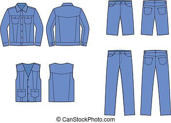jeans, indossare