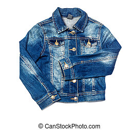 Jeans jacket blue color, i