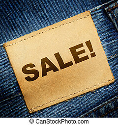 Jeans label SALE