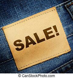 Jeans label SALE