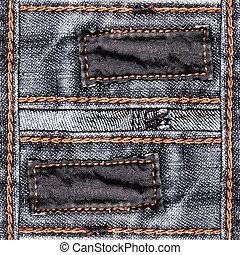 jeans, planlagt, bakgrund