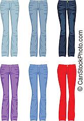 jeans, set