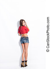 jeans, shorts