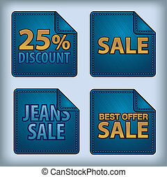 jeans stickers sale