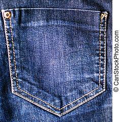 jeans, tasche