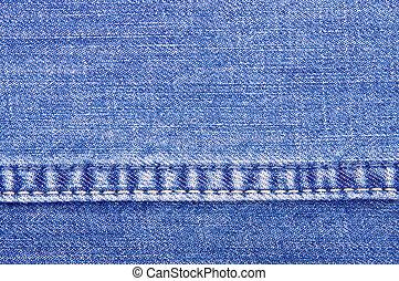 jeans texture close-up
