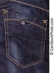 jeans texture closeup, macro