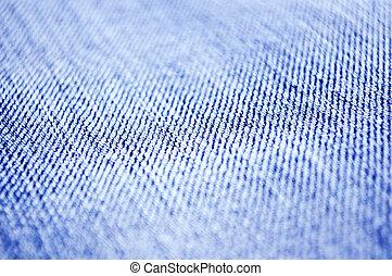 Jeans texture macro shot