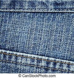 jeans, textuur