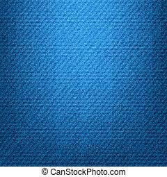 jeans., verticaal, textuur, vector, eps10.