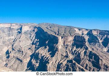 Jebel Shams, Tallest mountain of Middle-East, Oman