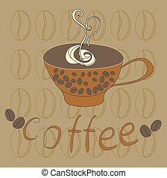 jeden, číše k káva