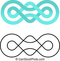 jedność, projektować, współposiadanie, węzeł, szablon