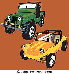 jeep, carrozzino