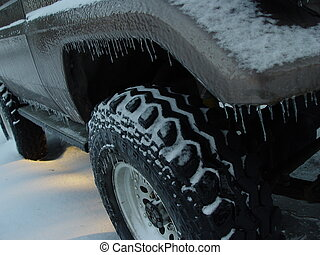 jeep, froid