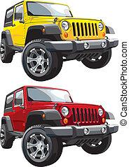 jeep, fuoristrada