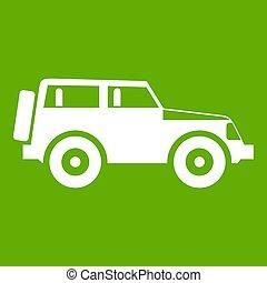 Jeep icon green