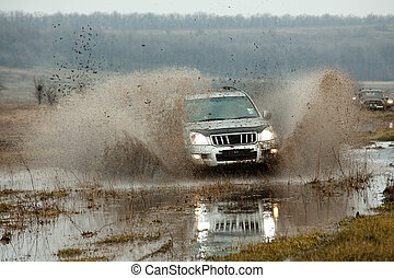 Jeep off road