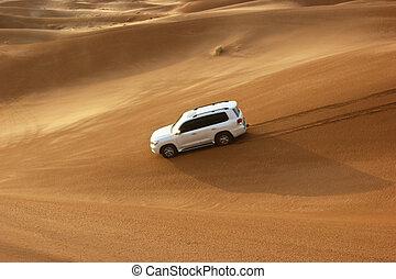jeep, poncez dunes, safari