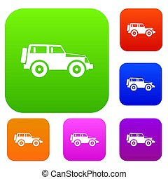 Jeep set collection
