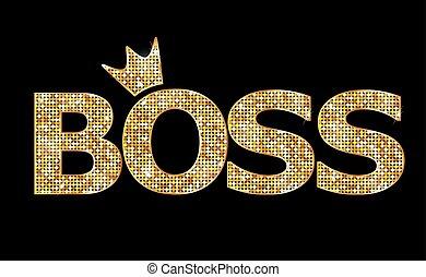 jefe, oro, cartas