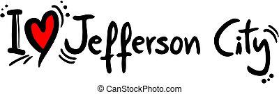 Jefferson city love - Creative design fo jefferson city love