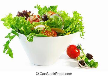 jeg tossed salat