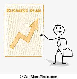jego, plan, handlowiec