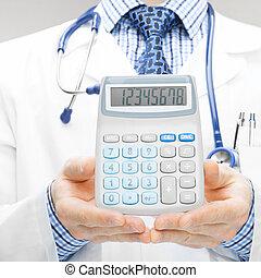 jego, stosunek, doktor, medyczny, -, 1, siła robocza, kalkulator