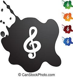 jegyzet, zene