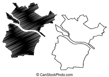 Jekabpils City (Republic of Latvia, Administrative divisions...