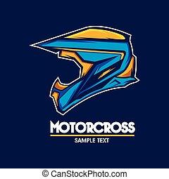 jel, embléma, motorcross
