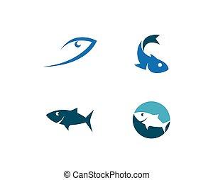 jel, fish, sablon