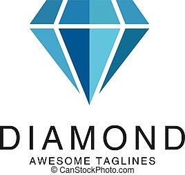jel, gyémánt, vektor